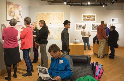 A Blast From The Past: Everett CC's Alumni Art Exhibit