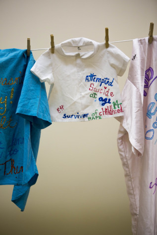 Things That Remain; Clothesline Project at EvCC