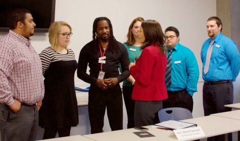 Sen. Cantwell Visits EvCC to Discuss College Affordability