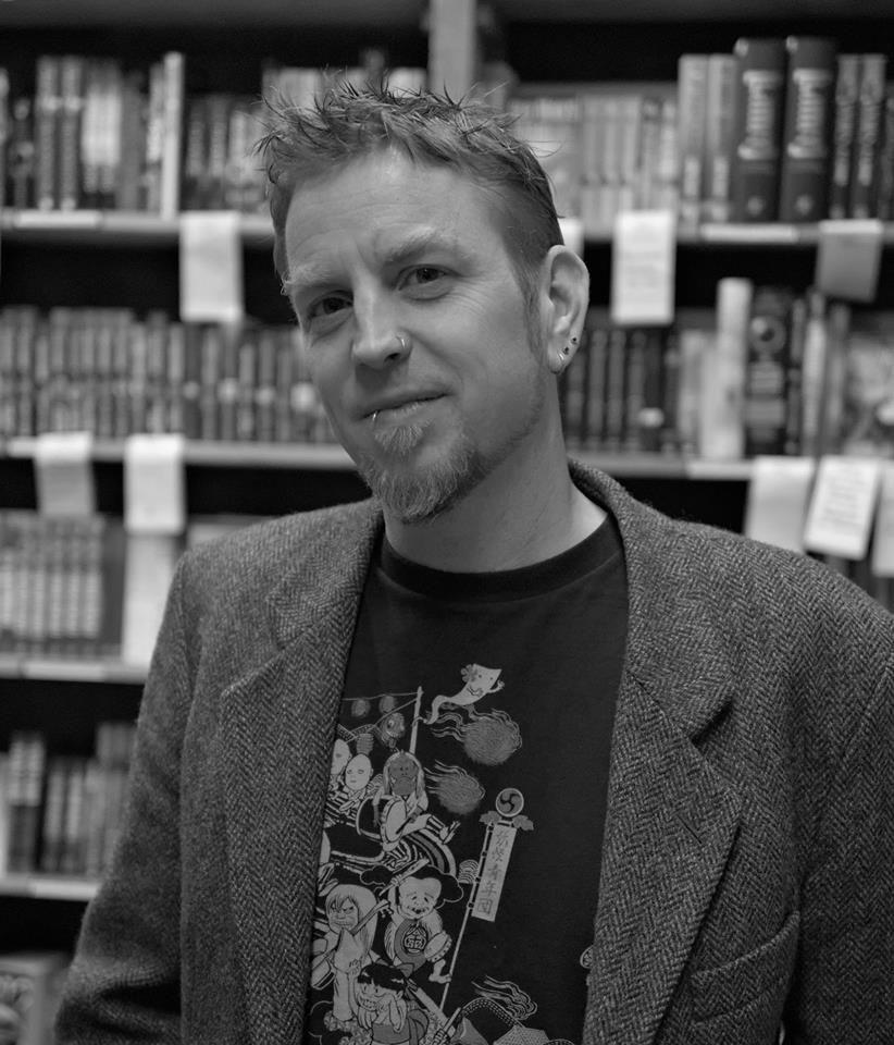 Zach Davisson, Author and Japanese scholar//Photo Courtesy of Chelsey Slattum