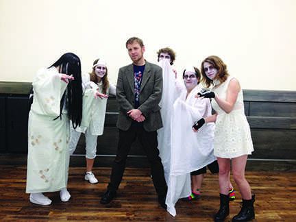 Zack Davission Brings Tales of Japanese Ghosts to EvCC