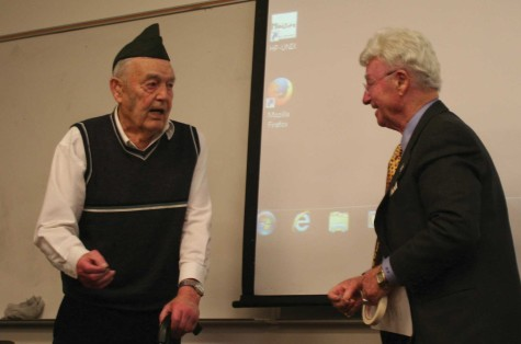 Holocaust Survivor Visits EvCC