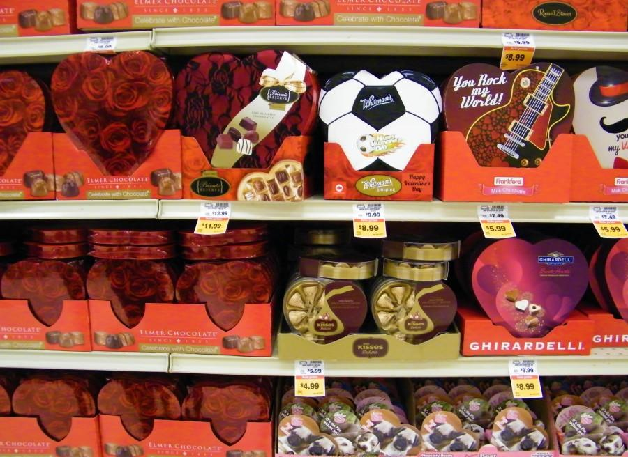 The Marysville Fred Meyers is stocking up in chocolate.