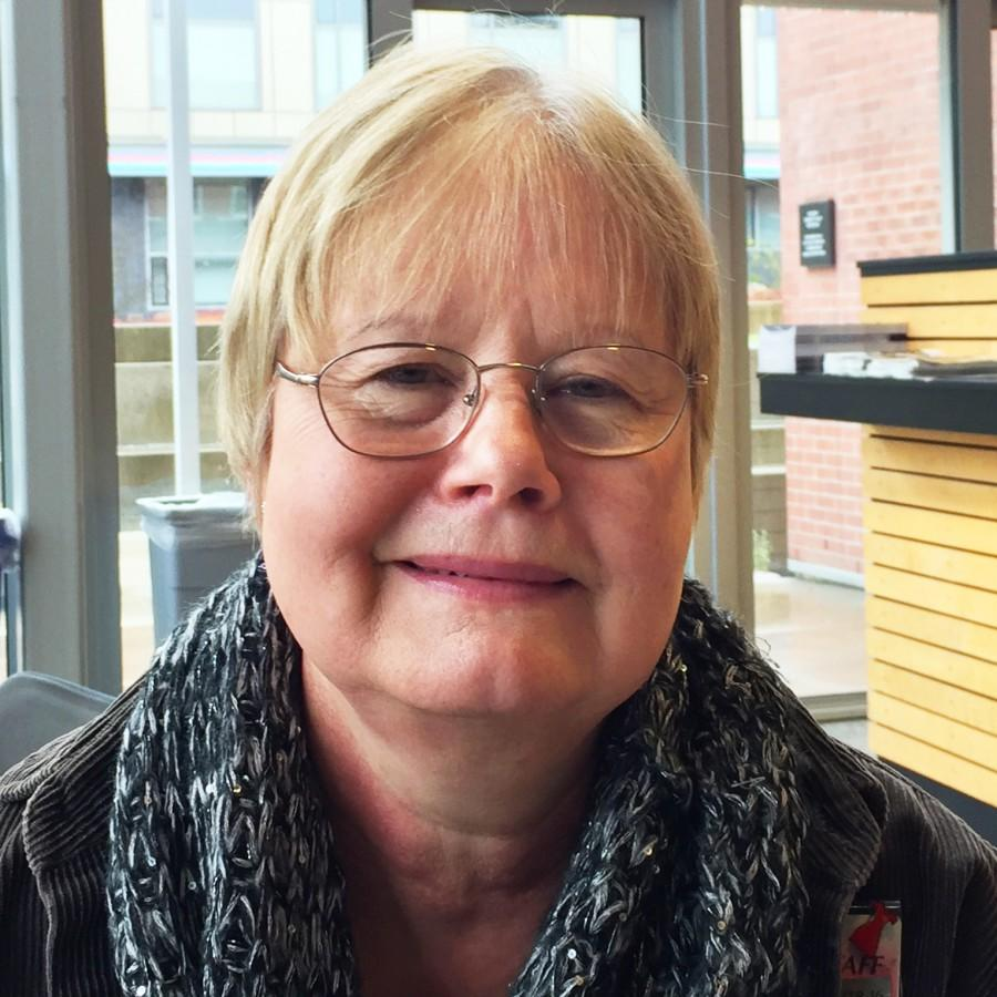 """Jan Allen, program coordinator at the Walt Price Student Fitness Center states, """"New Year resolutions are always good to improve yourself and take on new healthy habits…making them stick is always good too."""""""