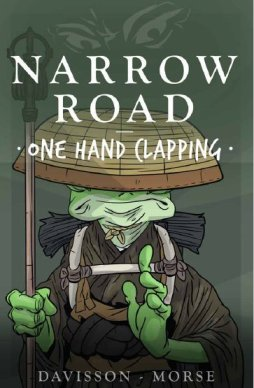 "Zack Davisson's comic, ""Narrow Road"". This is a collaboration between Mark Morse, an artist, and Davisson. According to www.thegatelessgate.com, ""Their goal is to blend these traditions of philosophy, folklore, and storytelling into an exciting journey of two friends."""