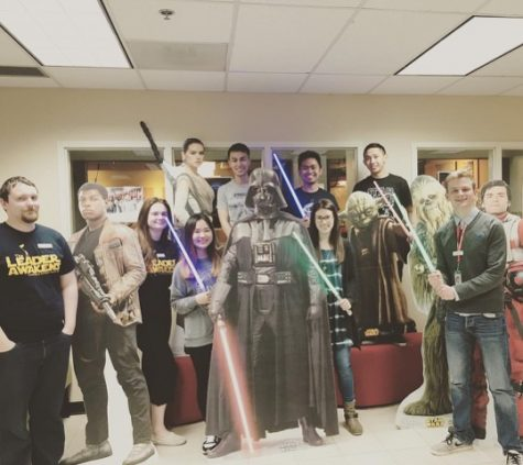 """Geiszler with the """"Star Wars"""" Drive-In committee that's part of Student LIFE. She has """"gotten to know so many people, I have made friendships that will last longer than my time here."""""""
