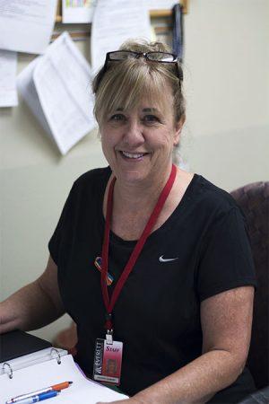 Debbie Newbury Director, Tutorial Center at EvCC located in Rainier 119.