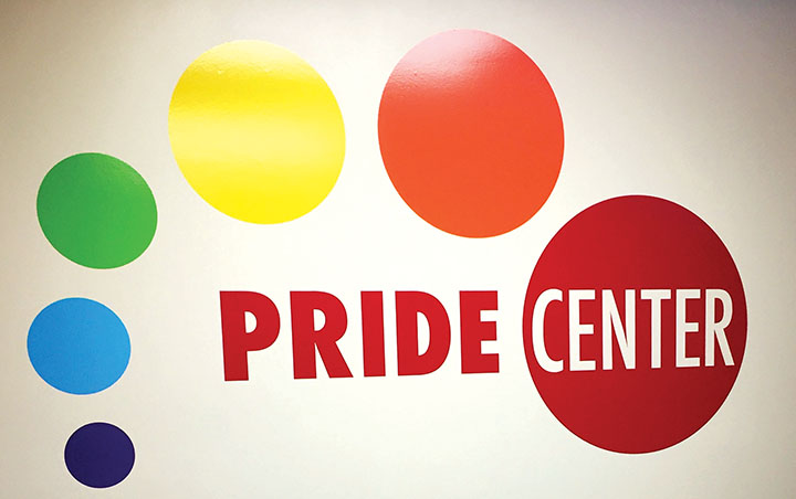 The Pride Center located in Parks Student Union near the cafeteria.  They have resources for all students, specifically centered around the LGBTQIA+ community