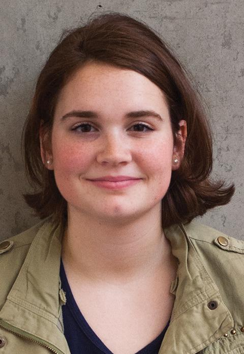 Meagan King, an EvCC student who voted for Hillary Clinton, gives her point of view on a Trump presidency.