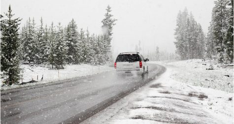 Winter driving can be dangerous. Stay alert while driving.