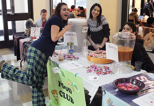 Students got 'Snow-zy' at Club Fest
