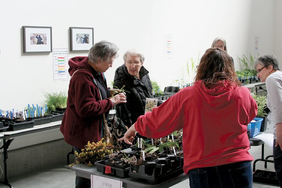 Guests learned about new types of plants at the event. It was a fun, educational experience open for everyone.