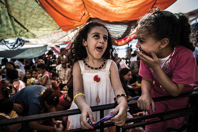 Two Coptic Christian girls celebrating Sham El Nessim. Egypt's religious minority were targeted once more when gunmen shot and killed 29 on May 26, according to CNN. ISIS claimed responsibility for the attack. Attacks against Coptic Christians have risen since 2011, the last being the Good Friday bombings that killed dozens.