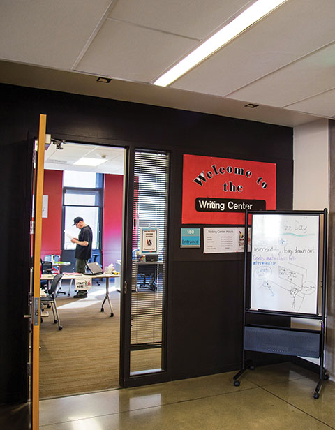 Writing center at EverettCC, writers block? Visit the writing center.