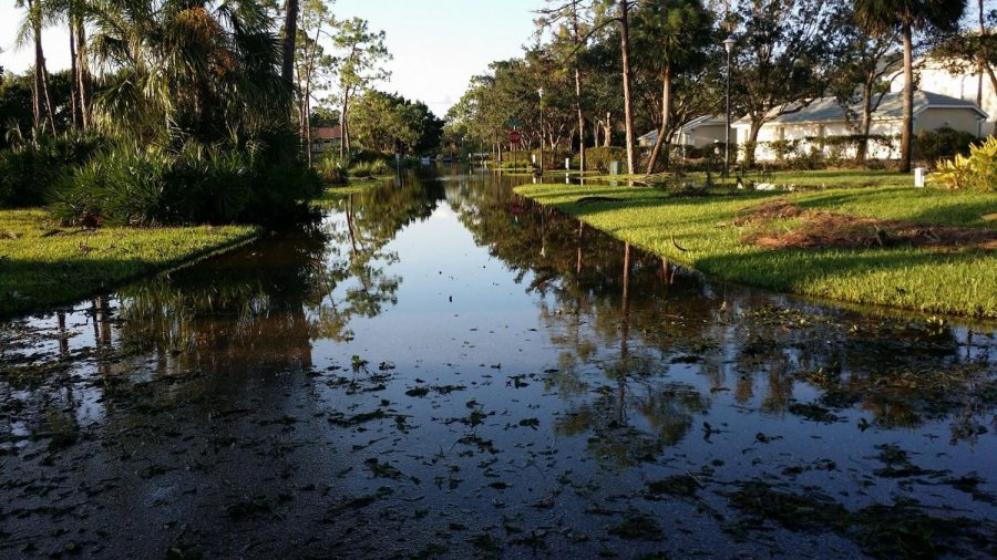 Flooding+damage+in+the+streets+of+Fort+Myers%2C+Florida+after+Hurricane+Irma.