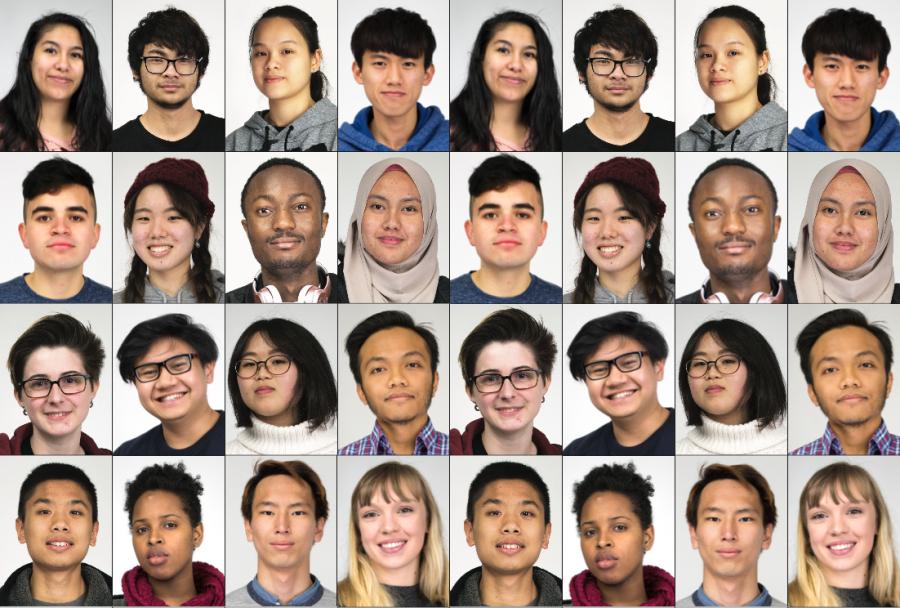 Faces of EvCC Diversity