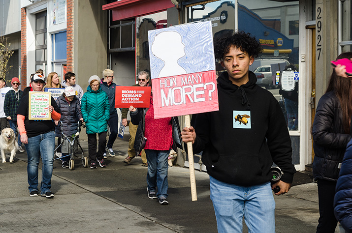 March+For+Our+Lives+in+Everett+WA.+24.03.2018