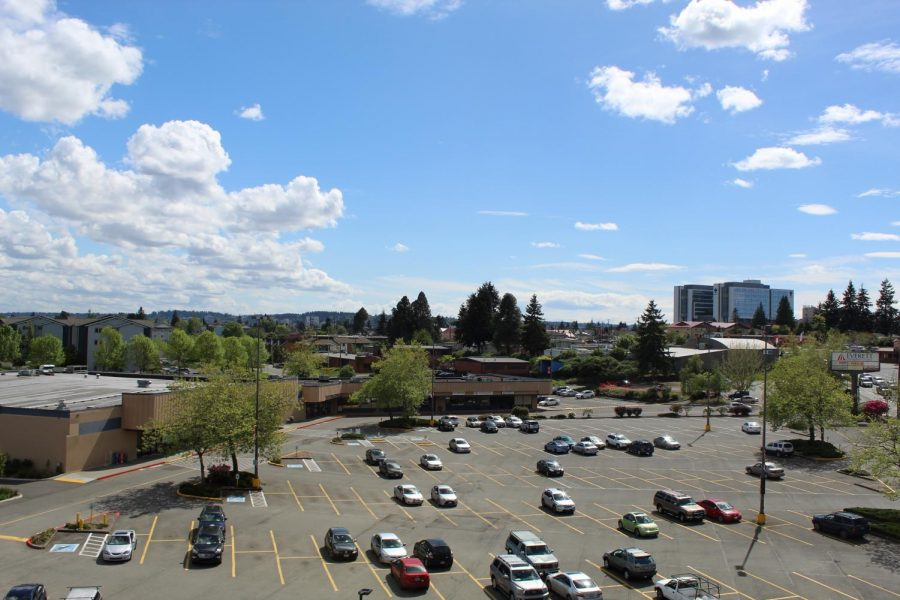 The area across Boadway over by WSU, one of the potential spots for the Learning Resource Center.
