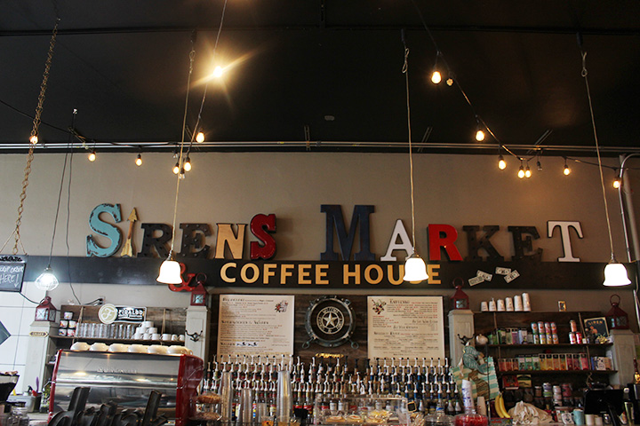 Food within Fifteen: Sirens Market and Coffee Shop