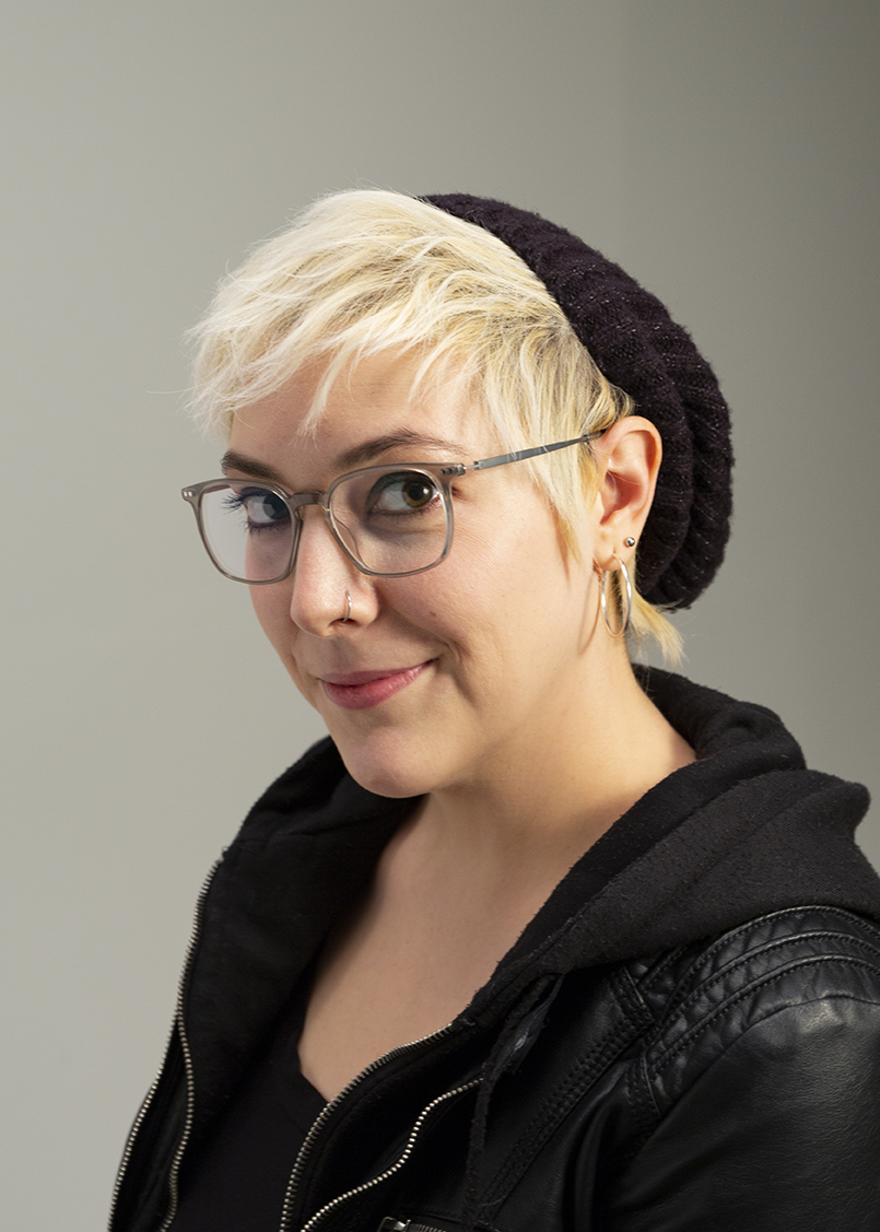 Photography student Corinne Catania (pictured, above) says,