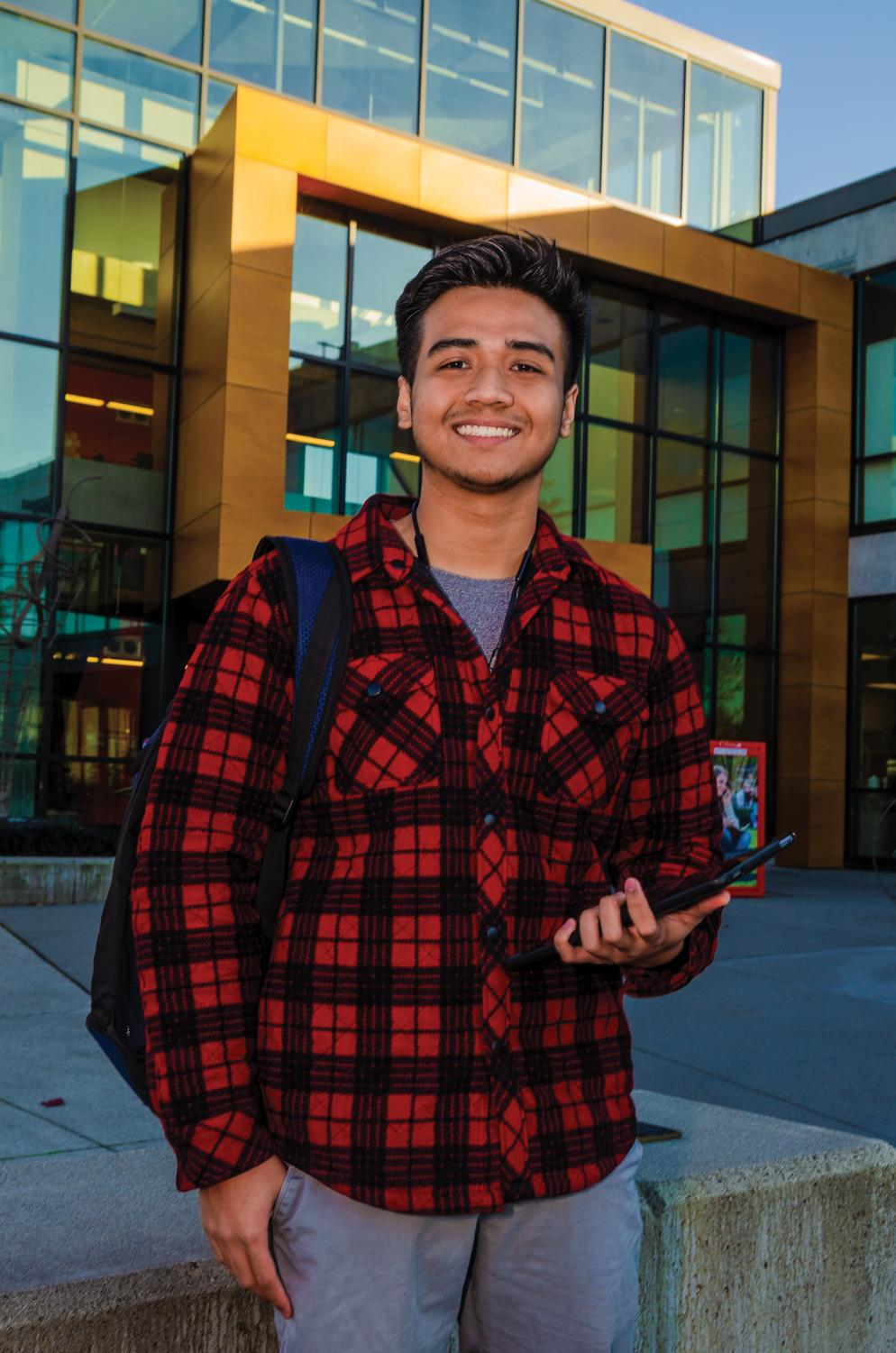Ahmad Zaferi, biomedical engineering student at EvCC recounts his journey from boarding school to independent college life.