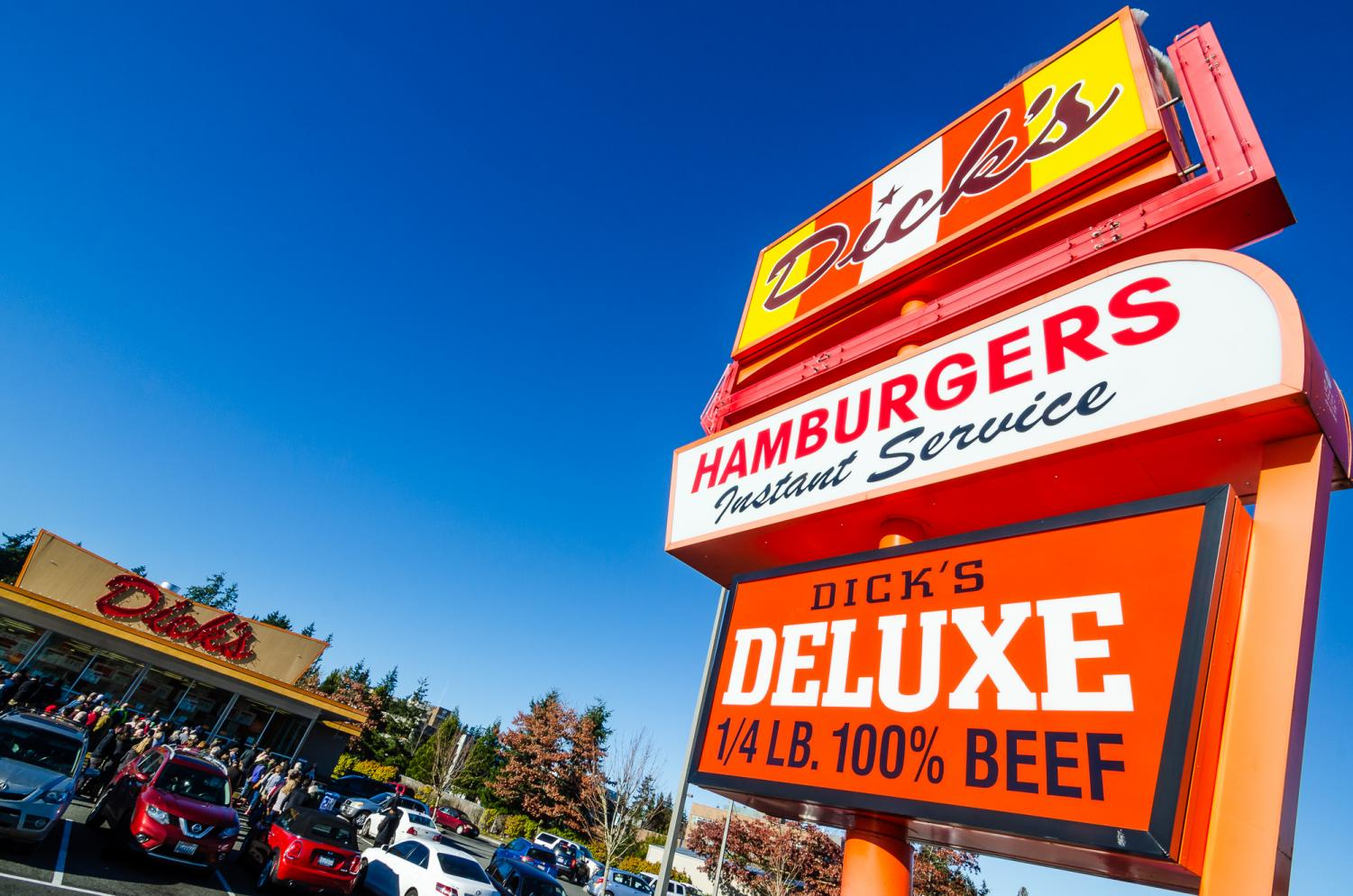 Dick's Drive-In celebrated it's 65 birthday on Tues. Jan. 29.