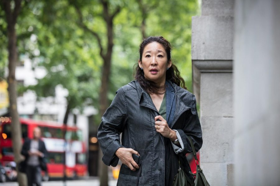 Sandra Oh, Golden Globe winning actor, stars in the BBC America show, Killing Eve