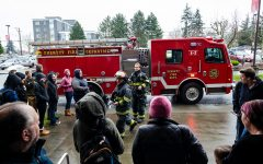 Fire Alarm Response In Whitehorse Hall