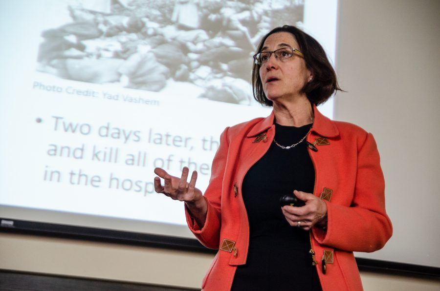 Visiting Author Delivers Passionate Account of Holocaust Survivors