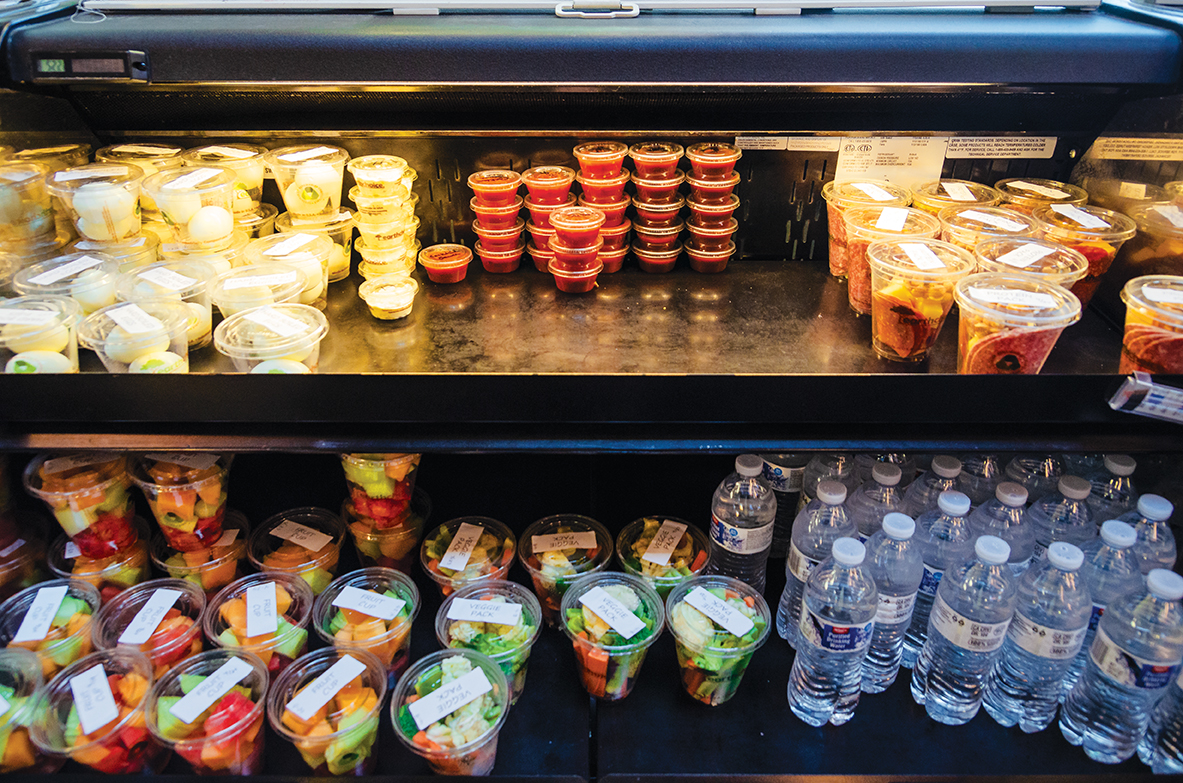 Grab-and-go+snack+cups+are+great+for+students+on+a+tight+schedule.+