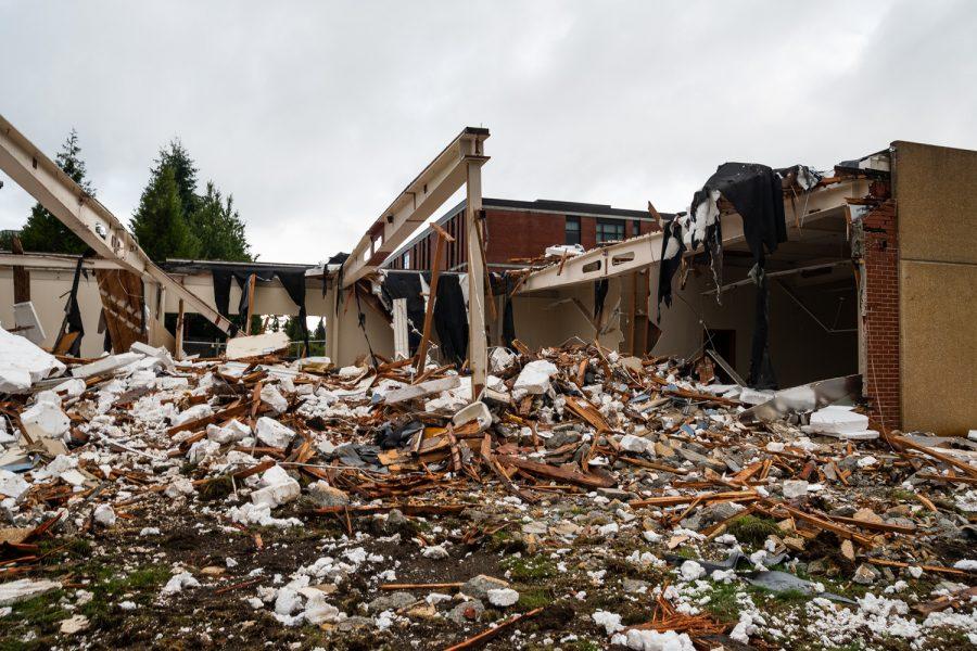 Demolition of Index Hall