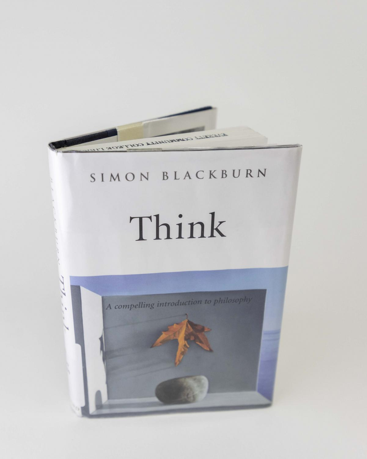 """Think"" by Simon Blackburn is an example of a book that could be an introduction to philosophy."
