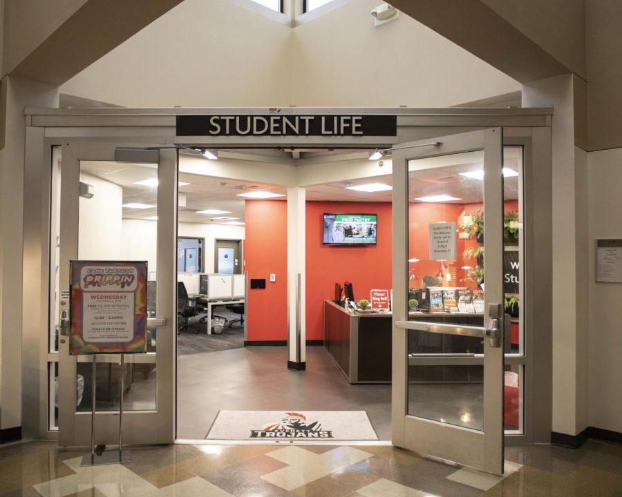 Student LIFE office located in Parks Student Union.