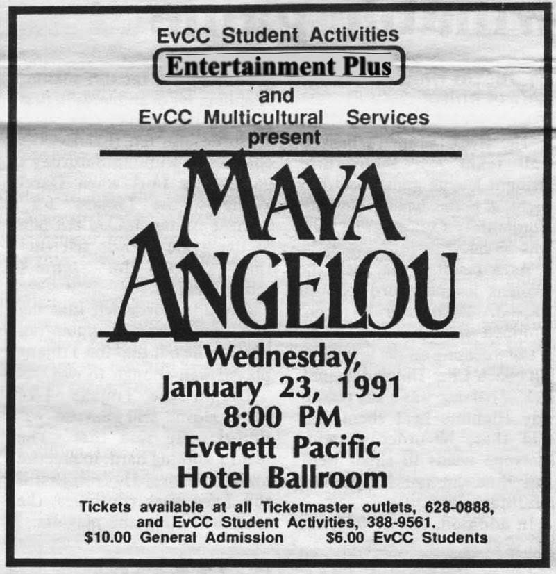 The+original+Clipper+advertisement+for+Maya+Angelou+in+1991.+