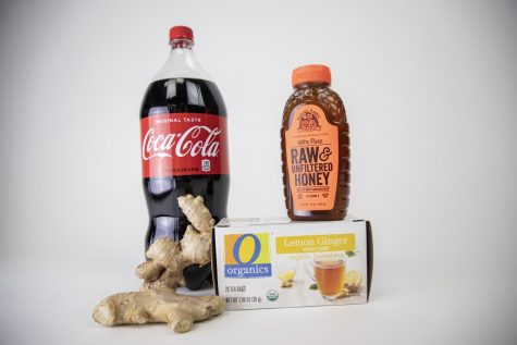 Ginger cola and ginger tea with honey are common home remedies in China for the flu.