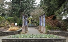 The Everett Arboretum and Gardens sits on 3.5 acres. It features 10 themed gardens with trees, sculptures and a gazebo.