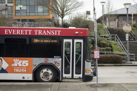 Bus passes are available for students who commute to school, costing 50 dollars each quarter for passes for all Everett Transit and Community Transit busses.