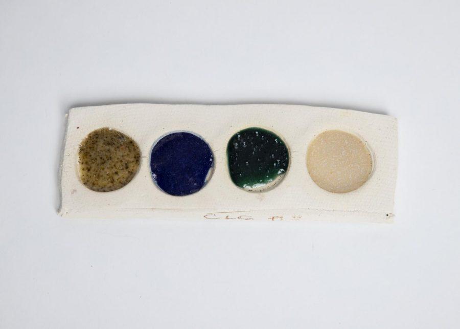 Student made glazes.