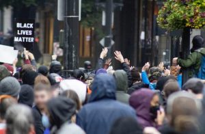Black Lives Matter Protest in Seattle