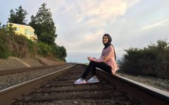 Lara Alsaedi, an international biology student from Iraq, and a student leader at EvCC.