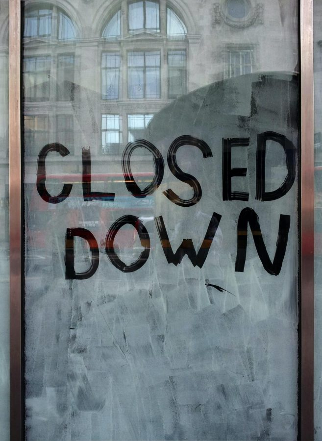 The pandemic has caused both campus and local businesses to close down, leaving students to struggle with uncertainty.