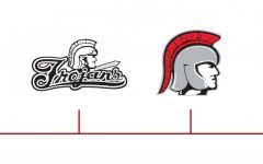A timeline of the changes made to the Trojan logo throughout the years.
