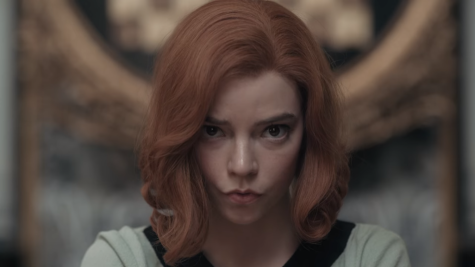 Anya Taylor-Joy stars as Elizabeth Harmon in The Queen