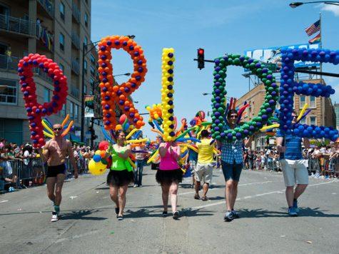 Pride celebration from 2017.