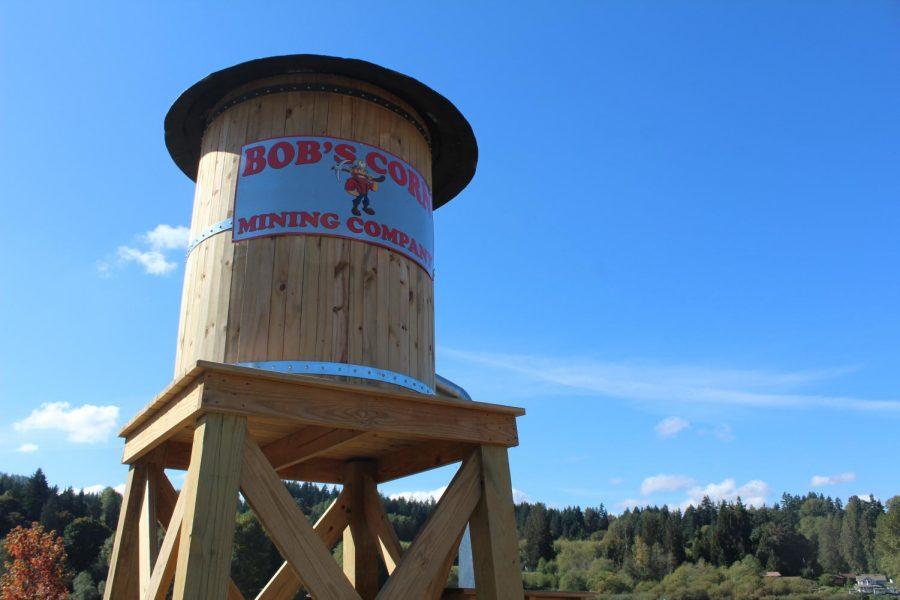 Water tower at Bobs Corn & Pumpkin Farm (Taken by Monica Mora)